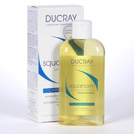 Farmacia Jiménez | Ducray Squanorm Champú caspa grasa 200ml