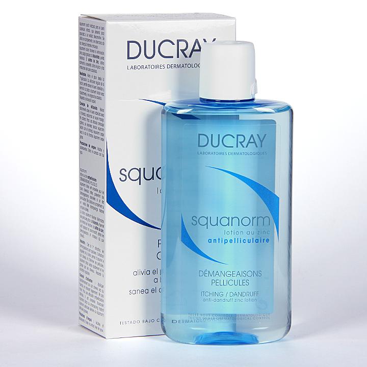 Farmacia Jiménez | Ducray Squanorm Loción anticaspa 200ml