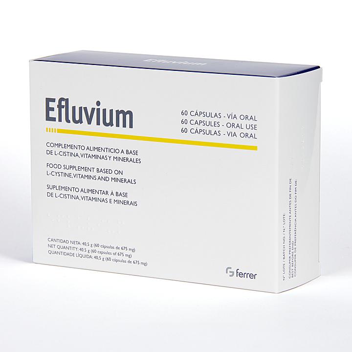 Farmacia Jiménez | Efluvium 60 Cápsulas anticaída
