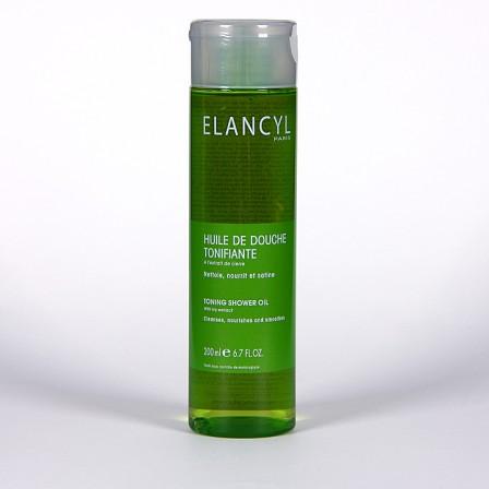 Farmacia Jiménez | Elancyl Klorane Aceite de ducha tonificante 200ml