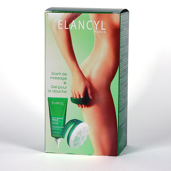 Farmacia Jiménez | Elancyl Klorane Activ Masaje Anticelulítico 200 ml + guante