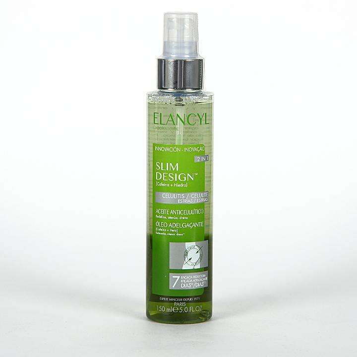 Farmacia Jiménez | Elancyl Klorane Slim Desing Aceite Anticelulítico y Antiestrías 150 ml