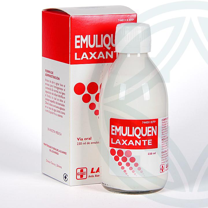 Farmacia Jiménez | Emuliquen Laxante emulsión oral 230 ml