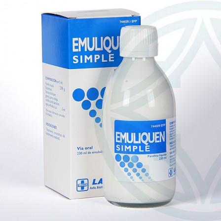 Farmacia Jiménez | Emuliquen Simple 478,2 mg/ml emulsión oral