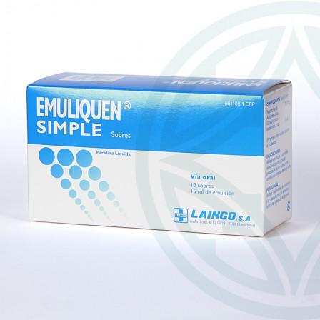 Farmacia Jiménez | Emuliquen Simple 7,17 g 10 sobres