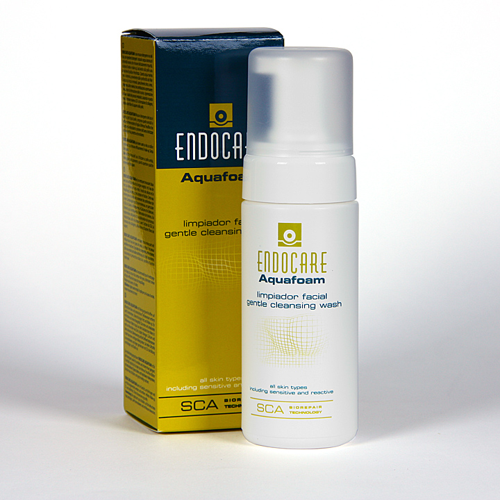 Farmacia Jiménez | Endocare Aquafoam Limpiador facial 125 ml