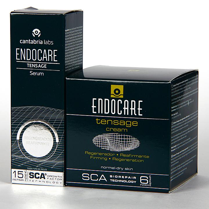 Farmacia Jiménez | Endocare Tensage Crema 50 ml + Tensage Serum 15 ml de Regalo