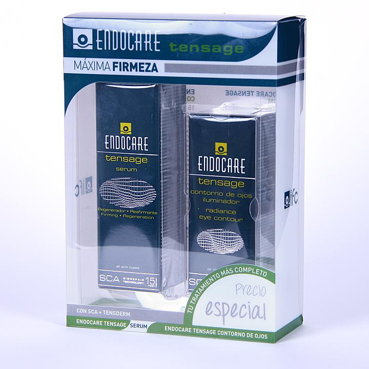Farmacia Jiménez | Endocare Tensage Serum 30 ml + Contorno de ojos 15 ml pack
