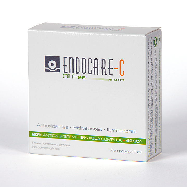 Farmacia Jiménez | Endocare-C oil free 7 ampollas Regalo