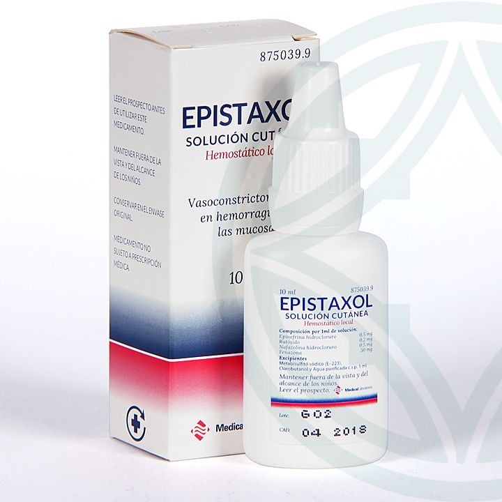 Farmacia Jiménez | Epistaxol solución cutánea 10 ml