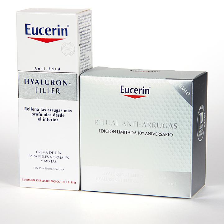 Farmacia Jiménez | Eucerin Hyaluron-filler pieles mixtas + Regalo ritual antiarrugas