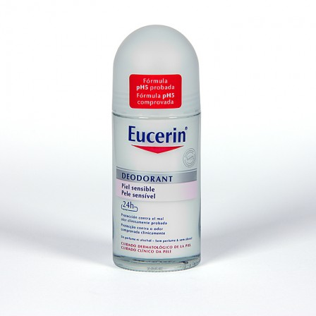 Farmacia Jiménez | Eucerin pH5 Desodorante piel sensible roll-on