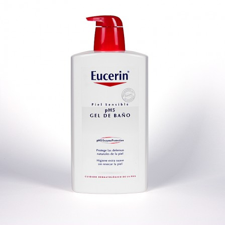 Farmacia Jiménez | Eucerin pH5 Gel de baño 1000 ml
