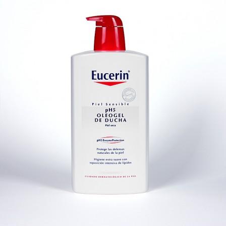 Farmacia Jiménez | Eucerin pH5 Oleogel de ducha 1000 ml + 400 ml ecopack