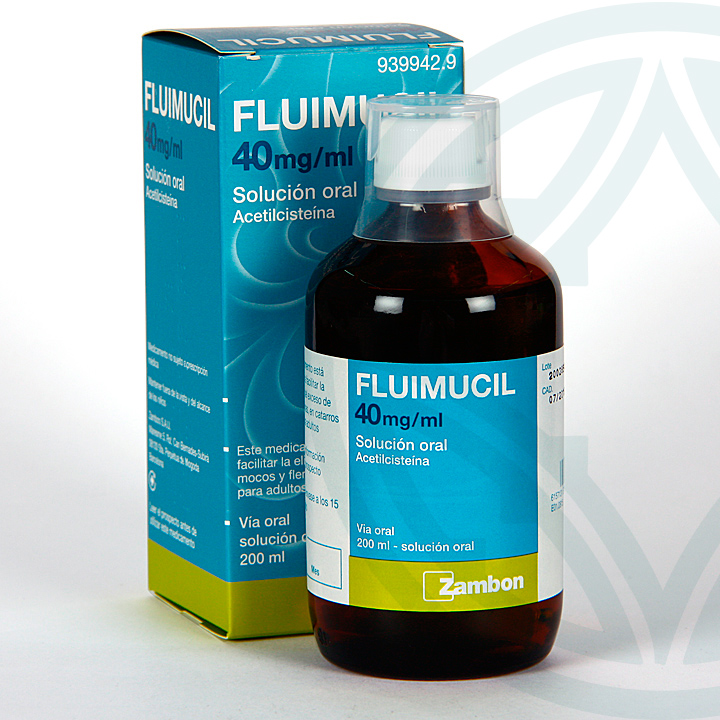 Farmacia Jiménez | Fluimucil 40 mg/ml solución oral 200 ml