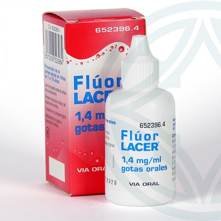 Farmacia Jiménez | Fluor Lacer gotas orales 30 ml
