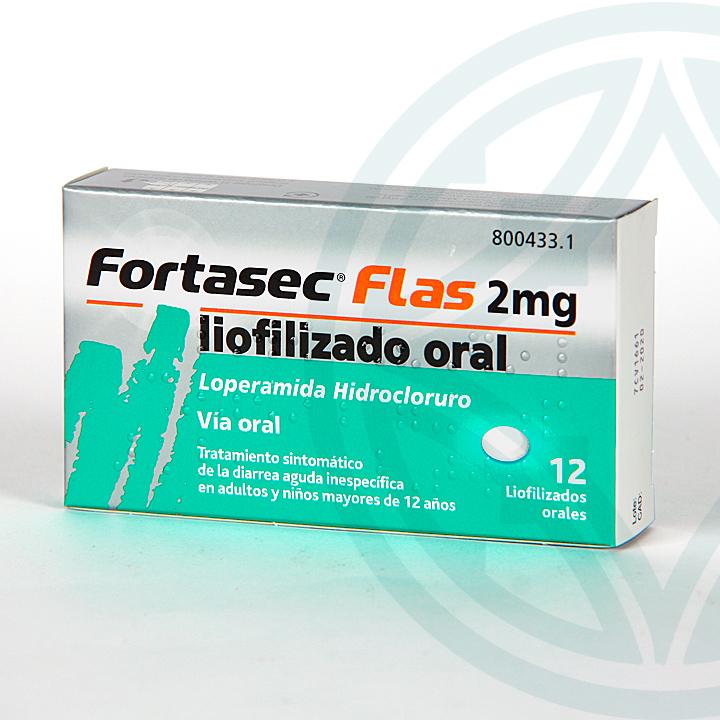 Farmacia Jiménez | Fortasec Flas 2 mg 12 Liofilizados Orales