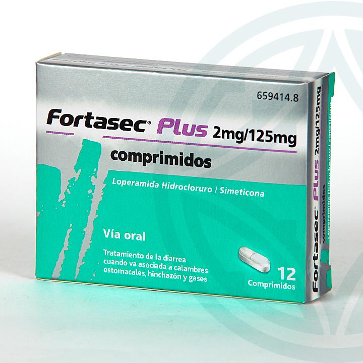 Farmacia Jiménez | Fortasec Plus 2/125 mg 12 comprimidos