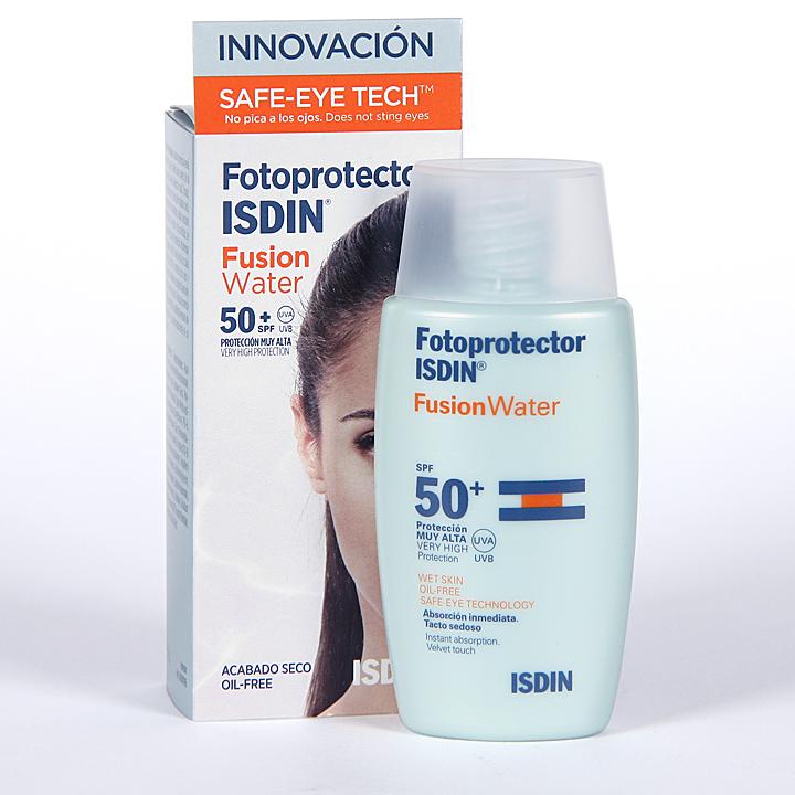 Farmacia Jiménez | Fotoprotector Isdin Fusion Water SPF 50+ 50ml
