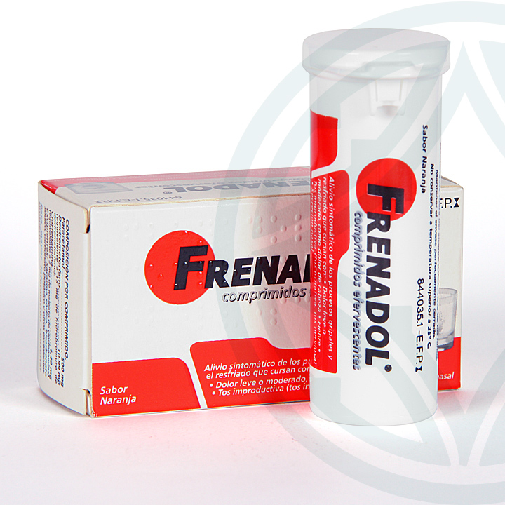 Farmacia Jiménez | Frenadol 10 comprimidos efervescentes