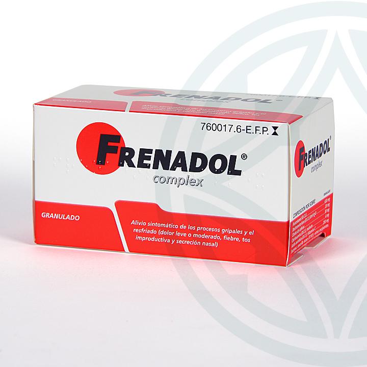 Farmacia Jiménez | Frenadol Complex 10 sobres