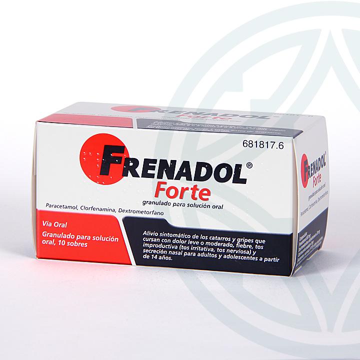 Farmacia Jiménez | Frenadol Forte 10 sobres