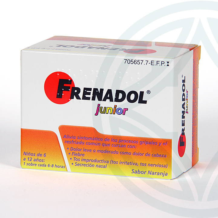 Farmacia Jiménez | Frenadol Junior 10 sobres