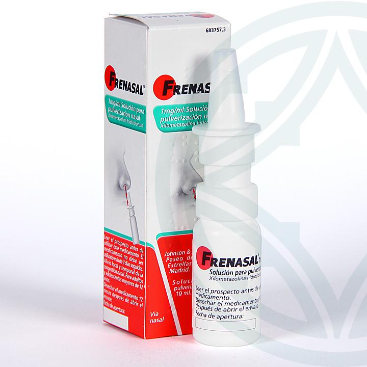 Farmacia Jiménez   Frenasal nebulizador nasal 10 ml