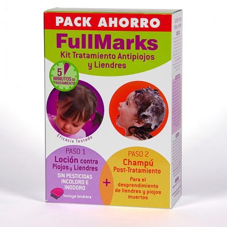 Farmacia Jiménez | FullMarks pack ahorro Loción + Champú + Liendrera