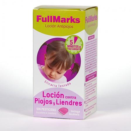 Farmacia Jiménez | FullMarks Solución Pediculicida contra piojos y liendres 100ml+liendrera