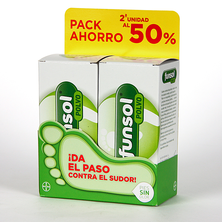 Farmacia Jiménez | Funsol Polvo Pack Duplo 60+60 g