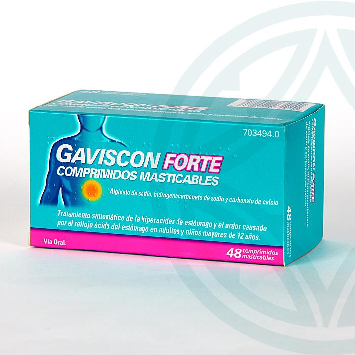 Farmacia Jiménez | Gaviscon Forte 48 comprimidos masticables