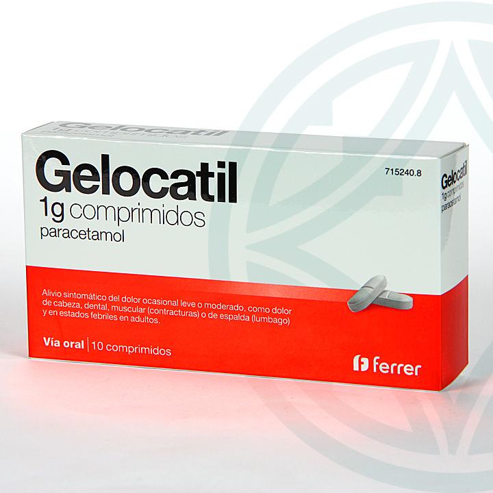 Farmacia Jiménez | Gelocatil 1 g 10 comprimidos
