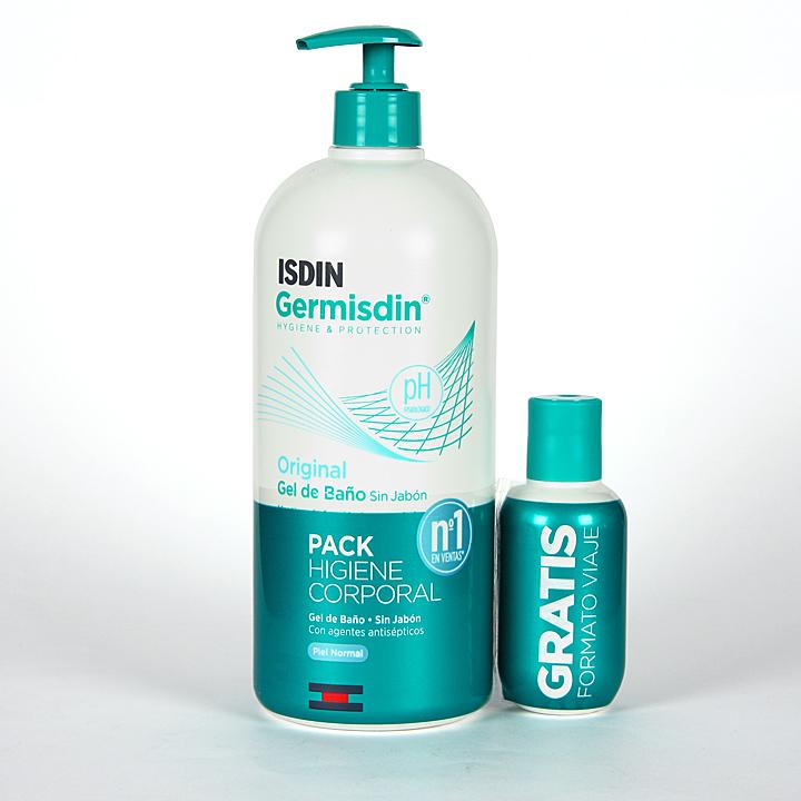 Farmacia Jiménez | Germisdin Higiene corporal 1000 + 100 ml Pack