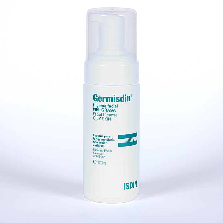 Farmacia Jiménez | Germisdin Higiene Facial Piel Grasa espuma limpiadora 100 ml