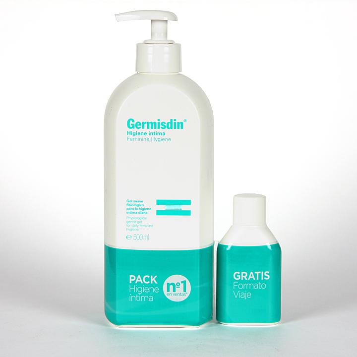 Farmacia Jiménez | Germisdin Higiene Intima femenina 500 ml Pack Viaje
