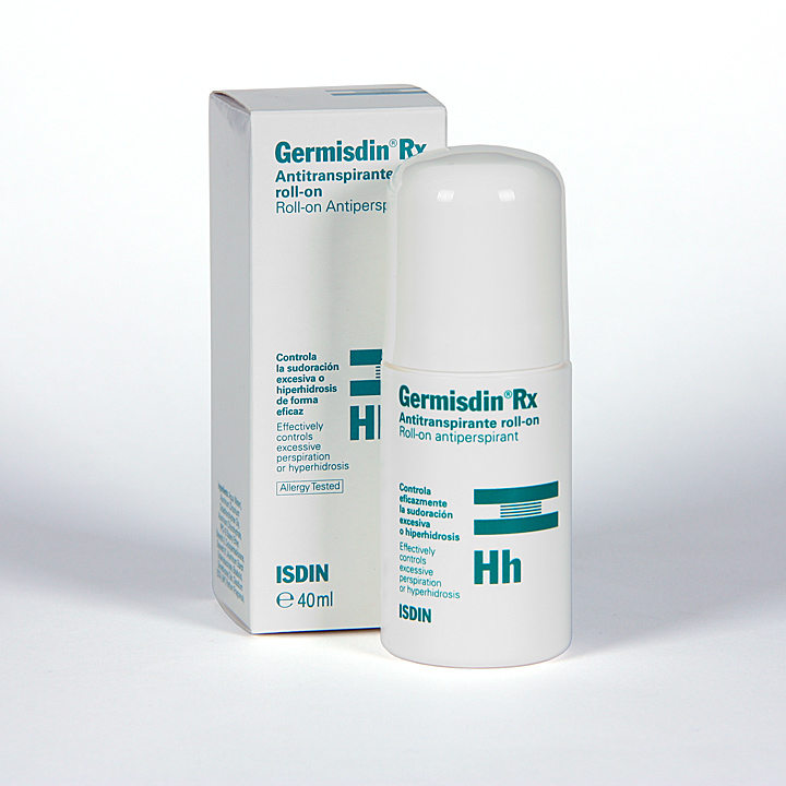 Farmacia Jiménez | Germisdin Rx Hh Antitranspirante roll-on 40 ml