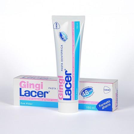 Farmacia Jiménez | GingiLacer pasta dentífrica formato ahorro 150 ml