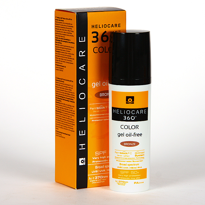 Farmacia Jiménez | Heliocare 360° Color Gel oil-free SPF 50+ Bronze 50 ml