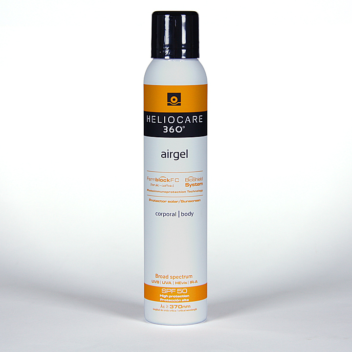 Farmacia Jiménez | Heliocare 360º Airgel corporal SPF 50 200 ml