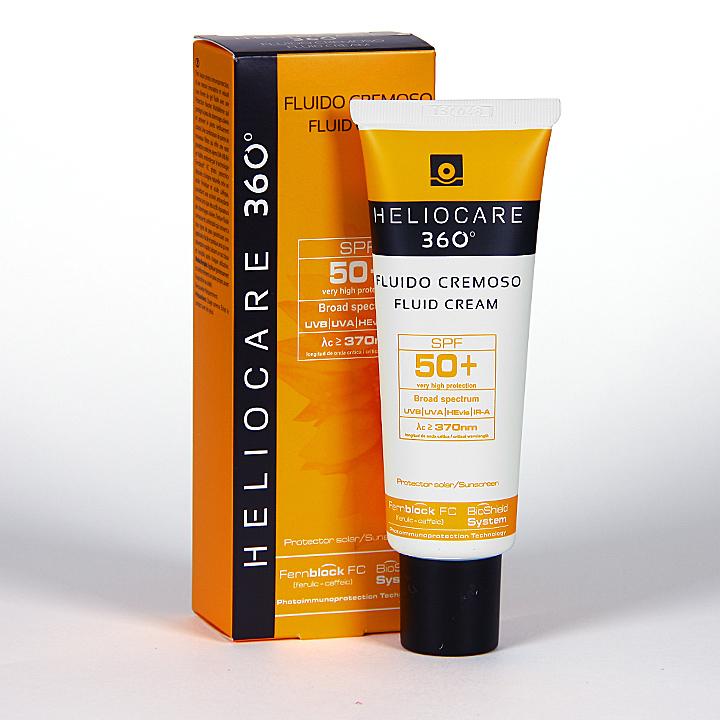 Farmacia Jiménez | Heliocare 360º Fluido cremoso SPF 50+ 50 ml