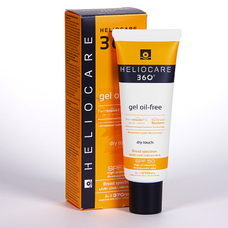 Farmacia Jiménez | Heliocare 360º Gel oil-free SPF 50 50 ml