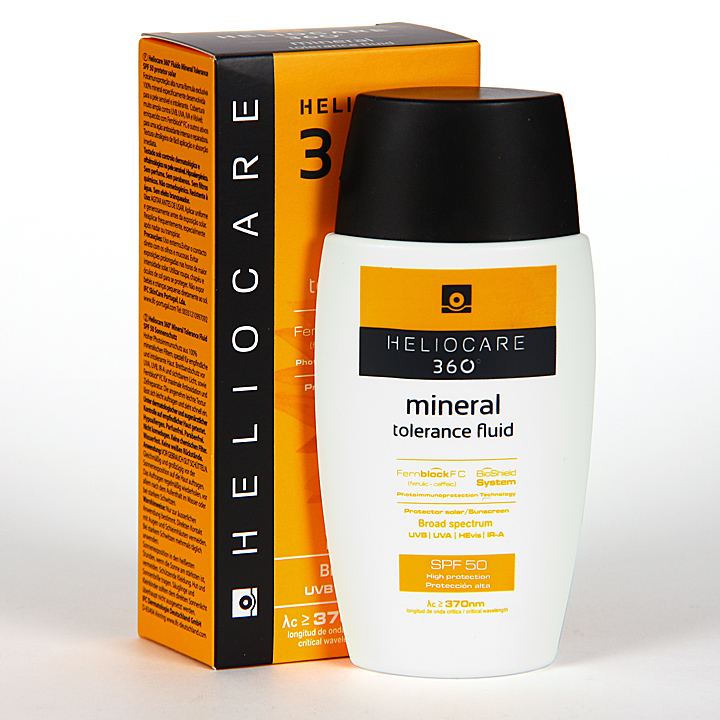 Farmacia Jiménez | Heliocare 360º Mineral Tolerance Fluid SPF 50 50 ml