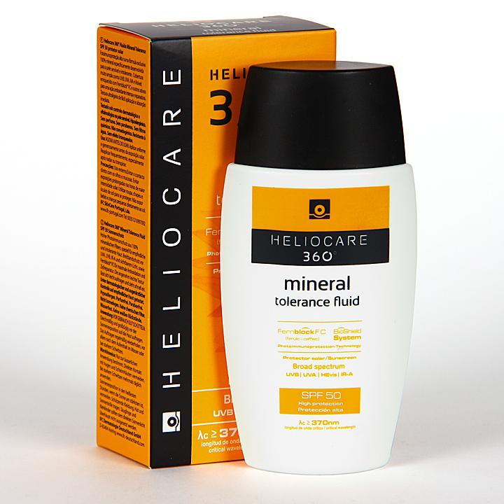 Farmacia Jiménez | Heliocare 360º Mineral Tolerance Fluid SPF 50 50 ml