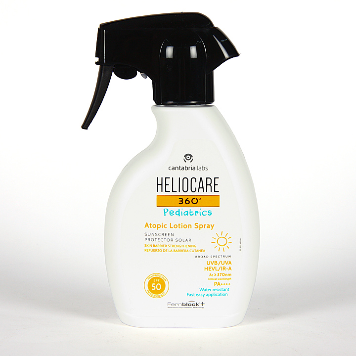 Farmacia Jiménez | Heliocare 360º Pediatrics Atopic Loción Spray SPF 50 250 ml