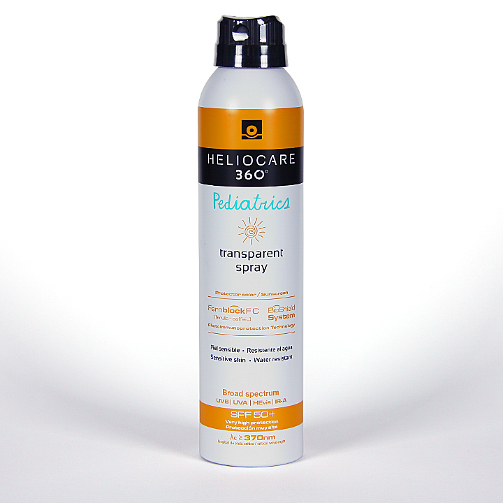 Farmacia Jiménez | Heliocare 360º Spray transparente pediátrico SPF 50 200 ml