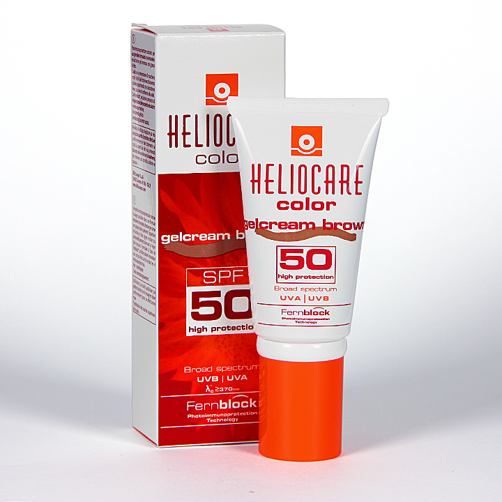Farmacia Jiménez | Heliocare 50 Gel-crema color Brown 50 ml