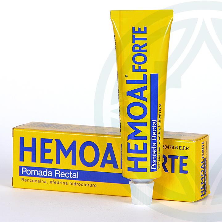 Farmacia Jiménez | Hemoal Forte pomada rectal 30 g