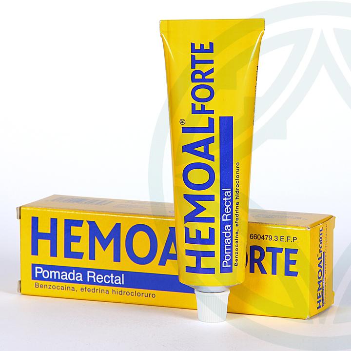 Farmacia Jiménez | Hemoal Forte pomada rectal 50 g