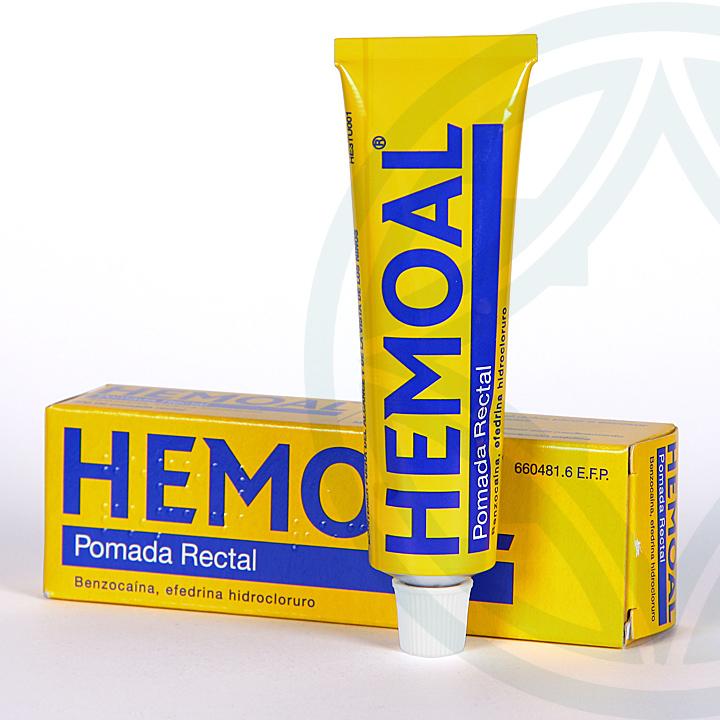 Farmacia Jiménez | Hemoal Pomada Rectal 30 g